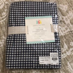 Pottery Barn Kids Easter Basket Liner - Size small